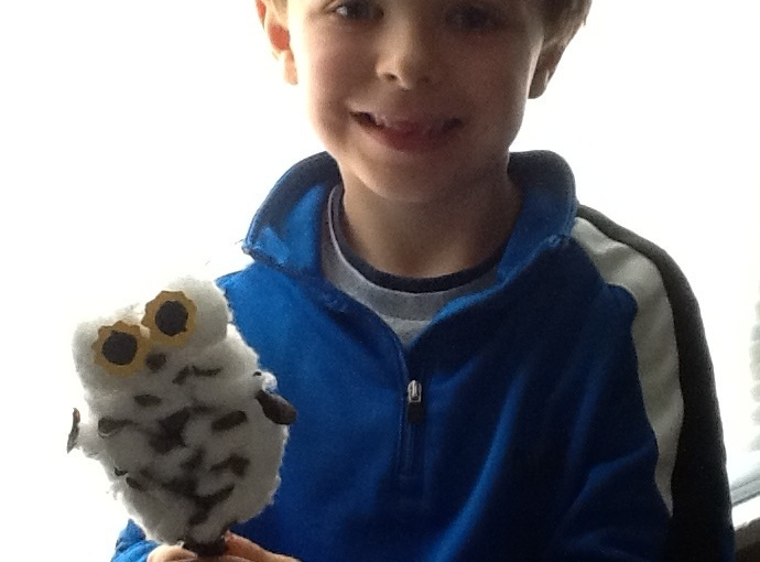 Our Own Owl PineconeCraft