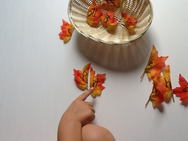 LEAF Word Family Activity