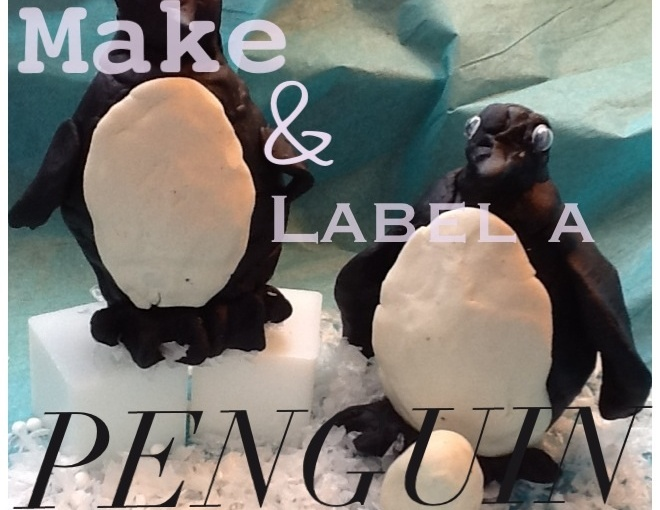 Make A Penguin Labeling Activity