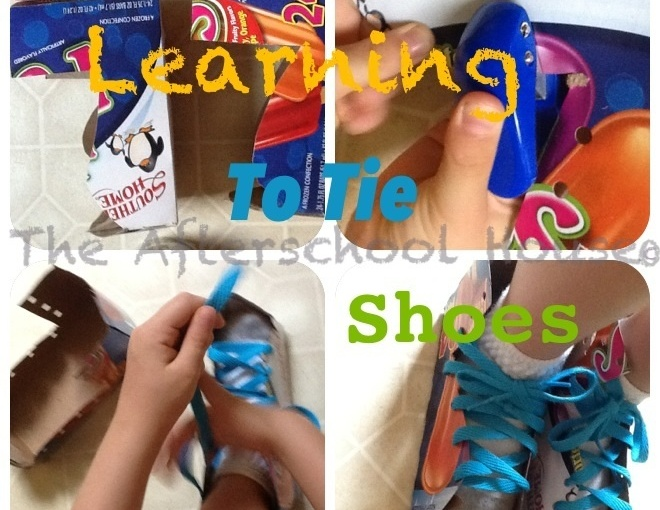 Learning To Tie Shoes With HealthyProprioception