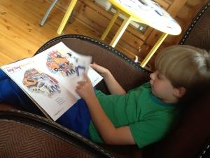 Books help regulate kids