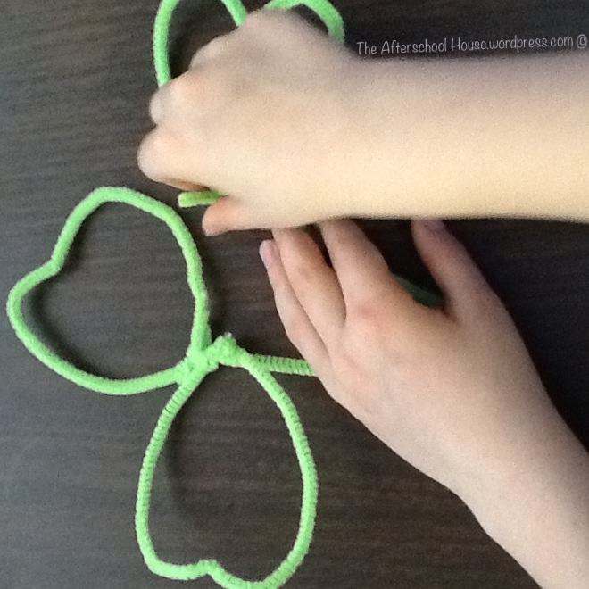 St. Patrick's Day bubble wand