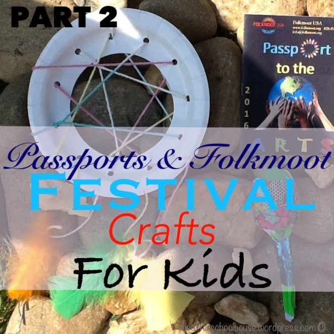 Folkmoot festival crafts for kids