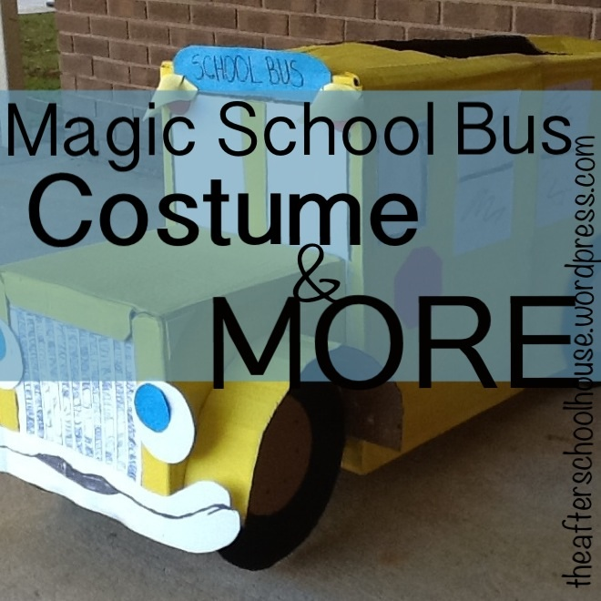 Magic School Bus Costume & more