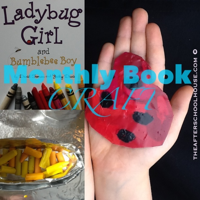 Ladybug Girl and Bumblebee Boy Book Craft