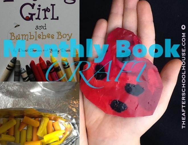 Ladybug Girl and Bumblebee Boy BookCraft