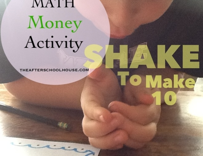 Money Math Activity for Presidents Day: Shake to Make 10